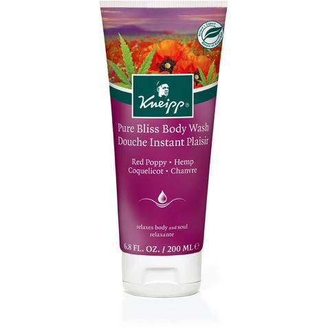 Kneipp Pure Bliss Red Poppy and Hemp Body Wash (200ml)