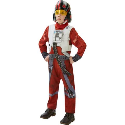 Star Wars Boys' Deluxe X-Wing Fighter Fancy Dress