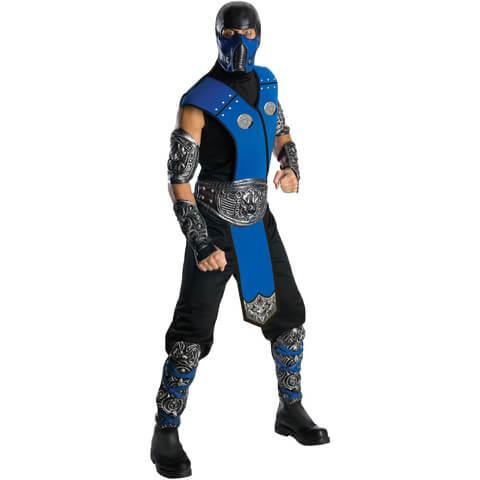 Mortal Kombat Men's Sub-Zero Fancy Dress