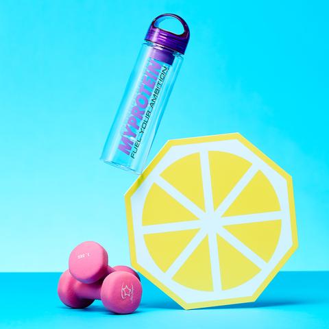 Botella con Infusor de Frutas Myprotein - Rosa