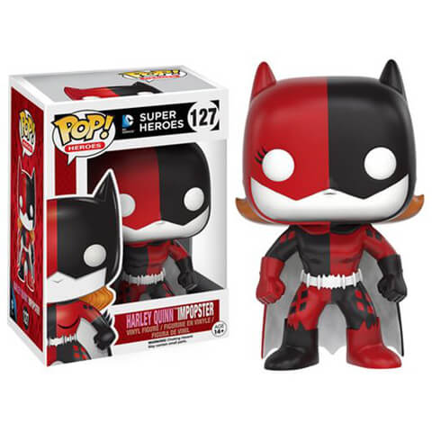 Figurine Pop! Batman Impopster Batgirl Harley Quinn