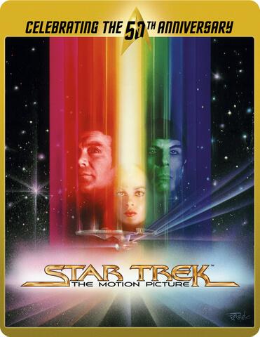 Star Trek 1 - Der Film - Limited Edition 50. Jubiläums Steelbook