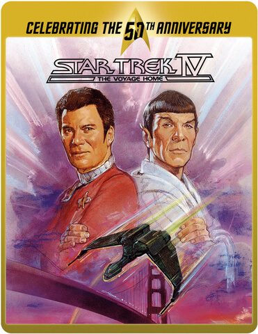 Star Trek 4 - The Voyage Home (Limited Edition 50th Anniversary Steelbook)