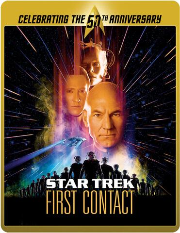 Star Trek 8 - Der erste Kontakt - Limited Edition 50. Jubiläums Steelbook