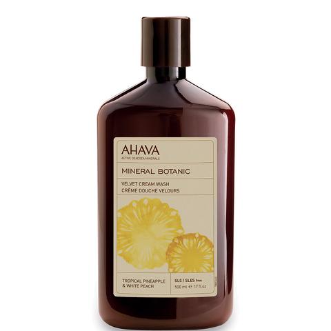 AHAVA Mineral Botanic Velvet Cream Wash - Tropical Pineapple and White Peach