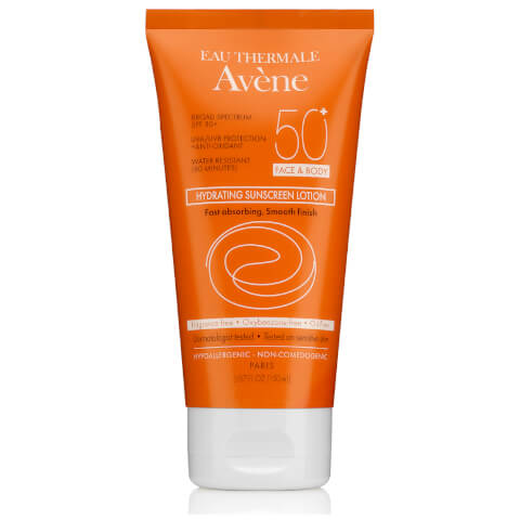 Avène Hydrating Sunscreen Lotion SPF50+ 5.07fl. oz