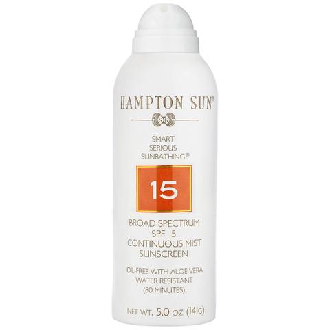 Hampton Sun SPF 15 Continuous Mist Sunscreen