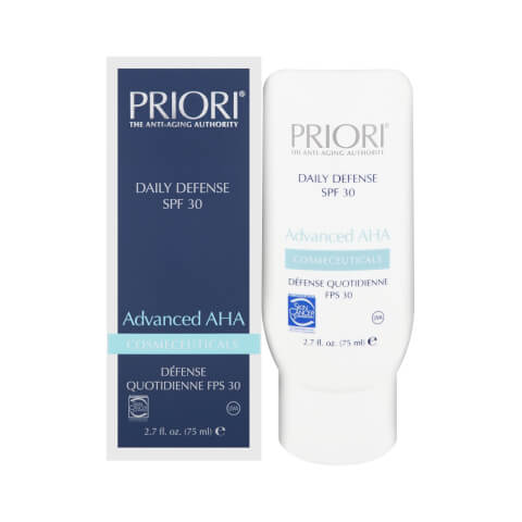 PRIORI Advanced AHA Daily Defense SPF 30