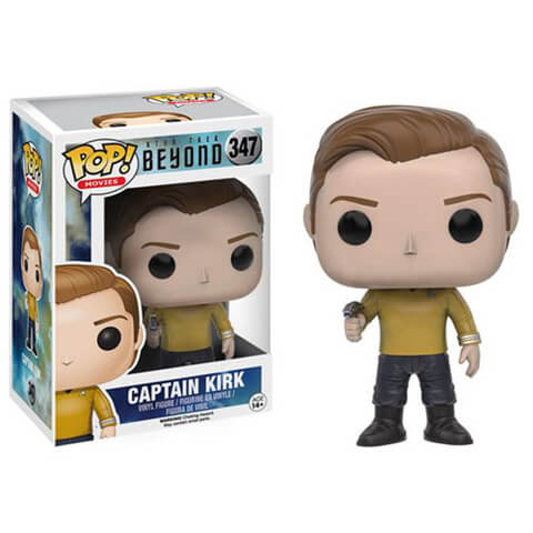 Star Trek: Más Allá Captain Kirk Pop! Vinyl Figure
