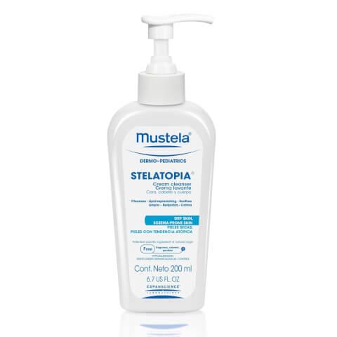 Mustela Stelatopia Cream Cleanser