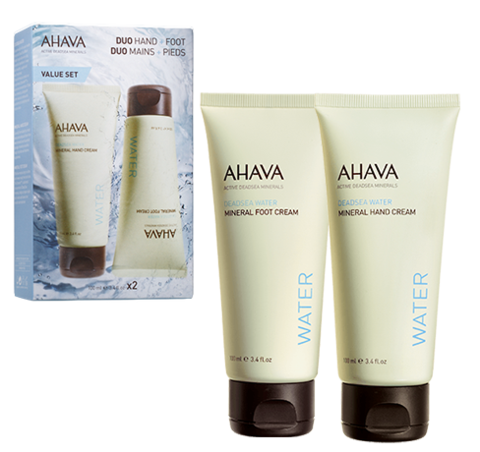 AHAVA Duo Mineral Hand and Foot Cream