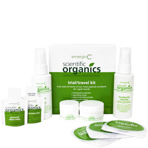 EmerginC Scientific Organics Eco Trial/Travel Kit
