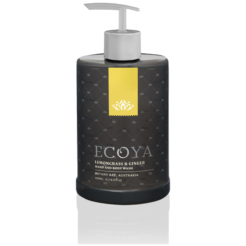 ECOYA Lemongrass and Ginger - Hand & Body Wash