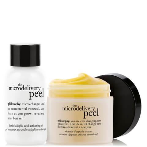 philosophy Microdelivery In-Home Vitamin C Peptide Peel Kit