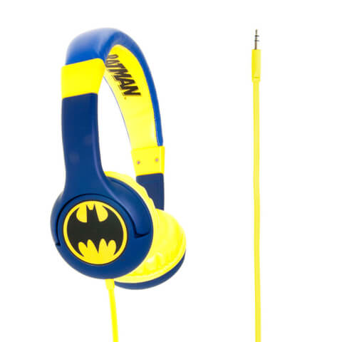 Batman Children's On-Ear Headphones - The Caped Crusader