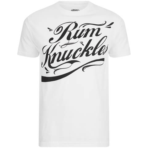 Rum Knuckles Signature Logo T-Shirt - White