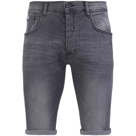 Crosshatch Men's Skylo Denim Shorts - Grey Wash