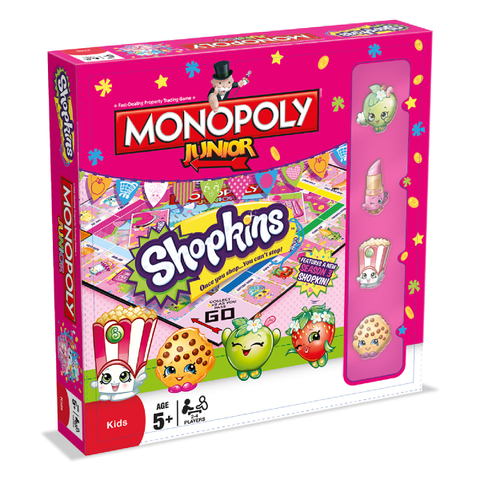 Monopoly Junior - Shopkins Edition