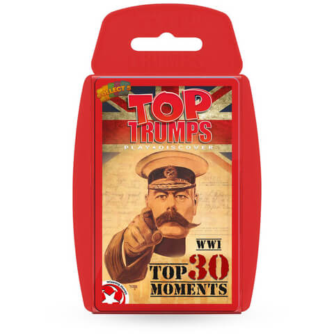 Classic Top Trumps - WW1: A History