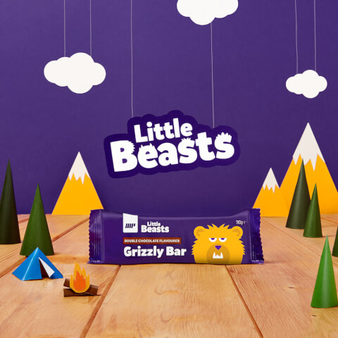 Barrita Grizzly Little Beasts - Caja de 6