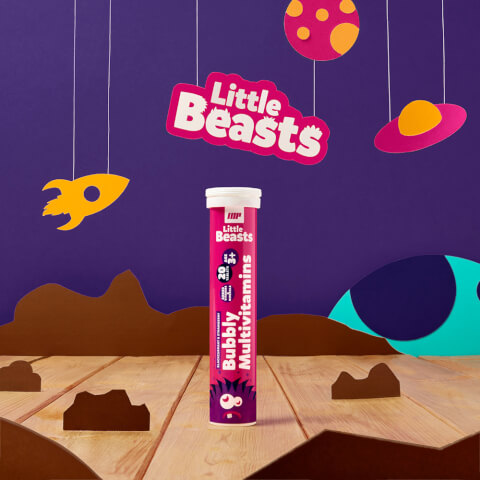 Multivitamínico Efervescente Little Beasts