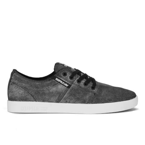 Supra Men's Stacks II Low Top Trainers - Washed Black