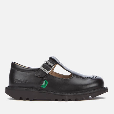 Kickers Kids' Kick T Flat Shoes - Black