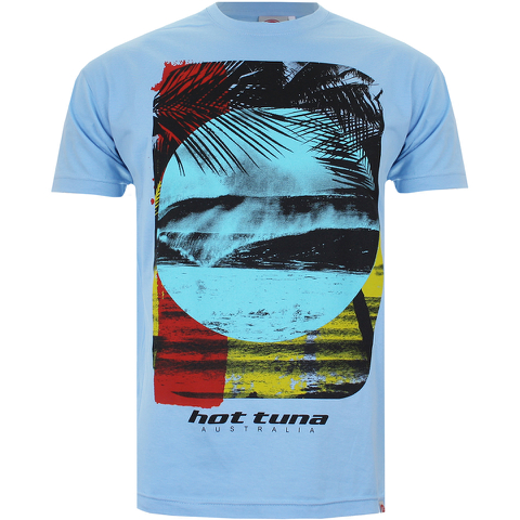 Hot Tuna Men's Surf T-Shirt - Sky Blue