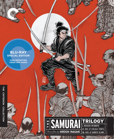Samurai Trilogy - Criterion Collection