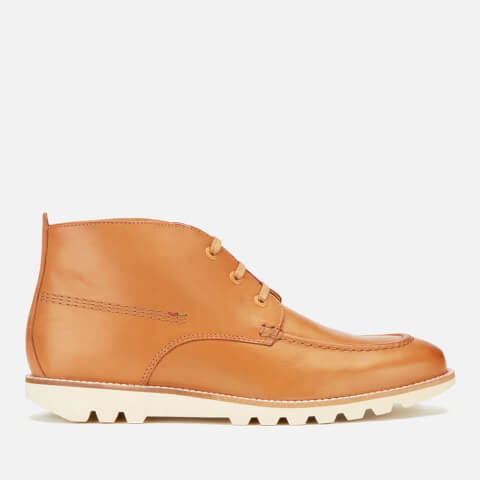 Bottines en Cuir à Lacets Homme Kickers Kymbo - Marron Clair