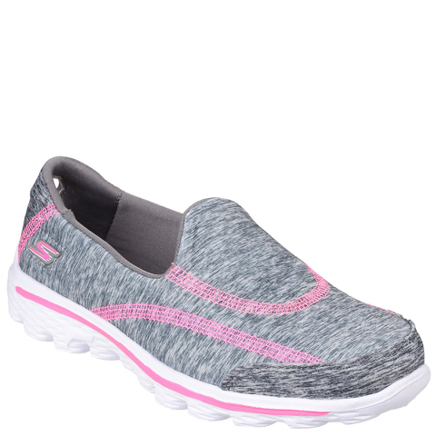 Skechers Kids' Go Walk 2 Relay Shoes - Grey