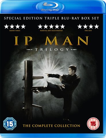 IP Man 1,2 & 3 Box Set