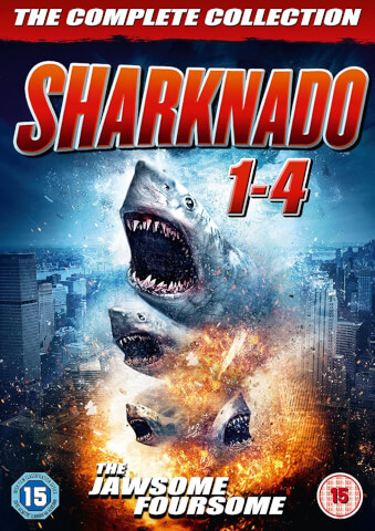 Sharknado 1-4 Box Set
