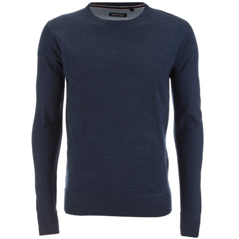 Pull Brave Soul pour Homme Parse Supersoft -Marine