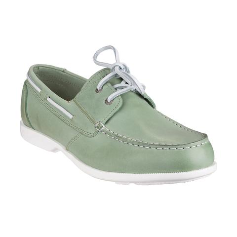 Rockport Men's Summer Sea 2-Eye Boat Shoes - Light Grey