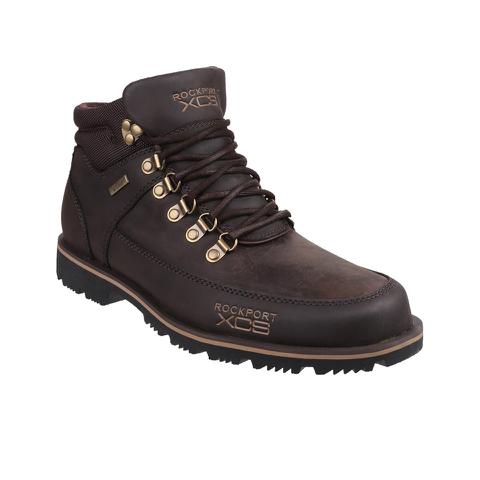 Rockport Men's Treeline Hike Mudguard Boot - Dark Brown