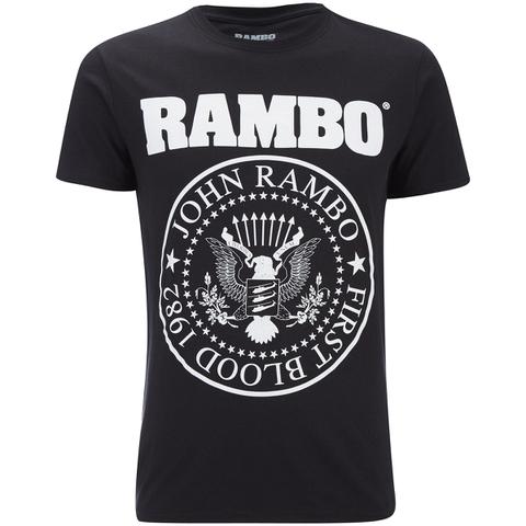 Rambo Mens Seal T-Shirt - Zwart