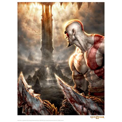 Affiche God Of War 'Look' - Fine Art