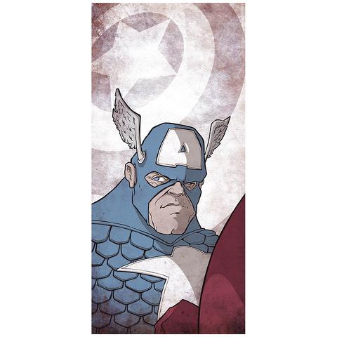 Affiche Captain America - Fine Art