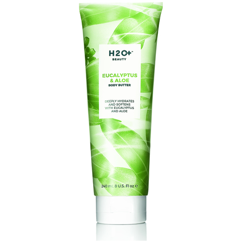 H2O+ Beauty Eucalyptus & Aloe Body Butter 8 Oz