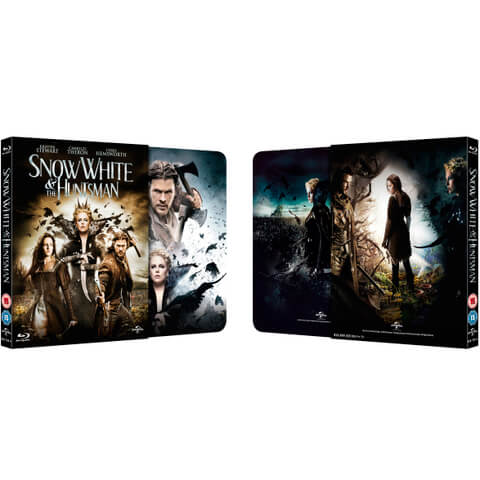 Snow White and the Huntsman - Zavvi Exclusive Steelbook with Slipcase (Limited to 2000 copies)