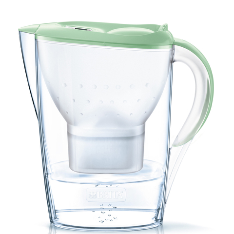 BRITA Marella Cool Water Filter Jug - Pastel Green (2.4L)