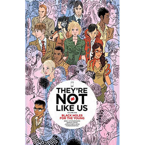 They're not Like us: Black Holes for the Young - Volume 1 Graphic Novel