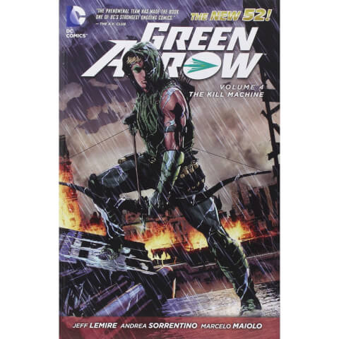 Green Arrow: The Kill Machine - Volume 4 Graphic Novel