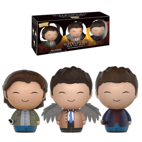 Supernatural Sam Dean and Castiel 3 pack Dorbz