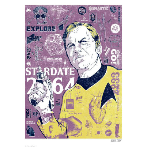 Kirk's Heart Limited Edition Giclee Art Print - Timed Sale