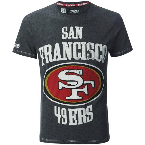NFL Men's San Francisco 49ers Logo T-Shirt - Grey