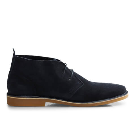 Jack & Jones Men's Gobi Suede Desert Boots - Navy Blazer