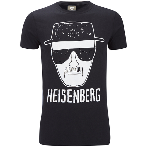 Breaking Bad Herren Heisenberg T-Shirt - Schwarz