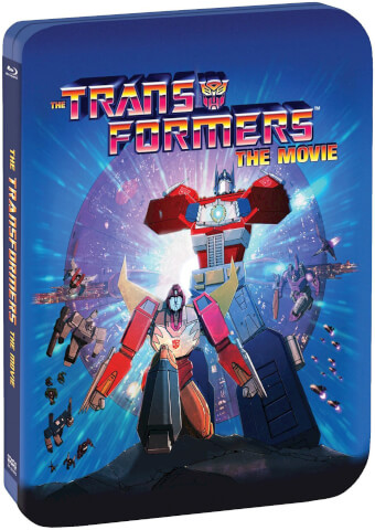 The Transformers: The Movie - 30th Anniversary Limited Edition Steelbook (Includes Digital Copy)